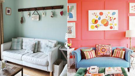 10款水果色沙发墙 打造清新跃动感家装