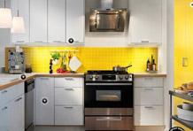 8个黄色系厨房 亮彩也能玩复古