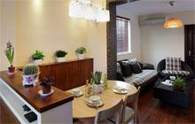 木质质感两室简约家