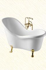 【卡拉巴斯】古典贵妃浴缸