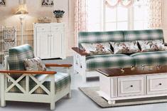 精益美家实木沙发组合