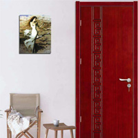 金凯木门 4.5cm厚实木复合烤漆门(全杉木填充)