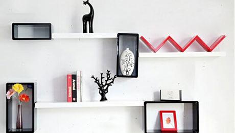 10款个性的墙面置物架 让你脑洞大开的设计