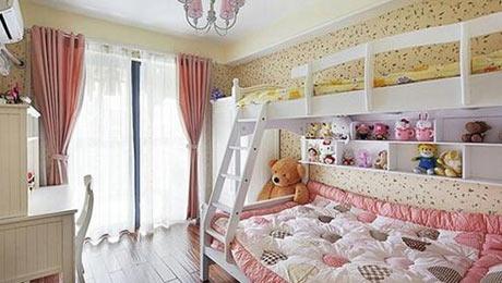 小公主喜欢的空间 这样的儿童房太美