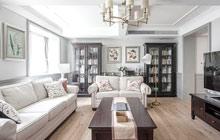 240平美式风格复式 设计让家更温暖