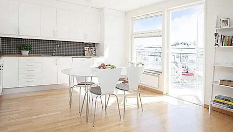 极简之美 10款开放式厨房装修