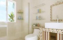 小户型卫浴间3大装修原则