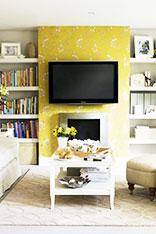 欧式电视背景墙图片