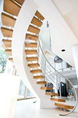 亲近自然 15款原木简约楼梯