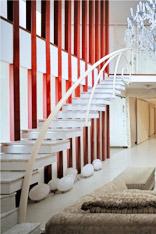 给家人一份安心 17个直线楼梯设计
