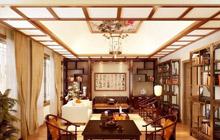 最爱中式风 24种中式客厅吊顶