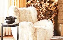 寒冷季节必备 20款毛绒沙发图片