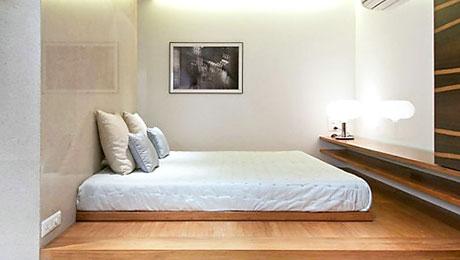 随便乱滚也不怕 13款实用卧室地台床