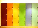 色彩缤纷的浴柜