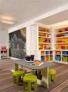 一、儿童书房装修之书房大小