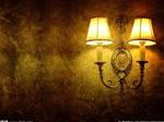 2、挑走廊灯:复古流行