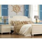 华日家居靓华系列地中海风格卧房套餐双人床+床头柜