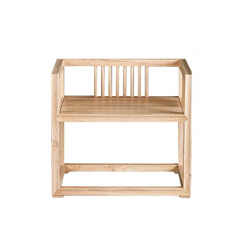众派家具 白橡木北欧家具高方圆桌椅 单椅