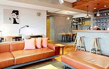 像坐在咖啡馆一样 80平米轻工业风公寓实景图